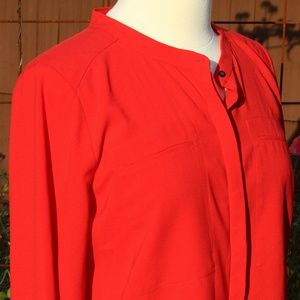 Red Cynthia Rowley Shirt
